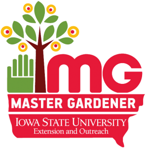 Master Gardener IASTATE Extension and Outreach Logo
